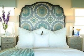 fabulous fabric headboard design