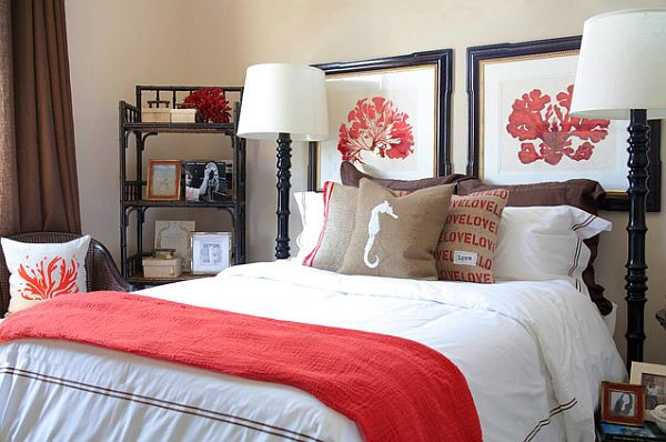 framed photo collage headboard Four Alternatives to Traditional Headboards