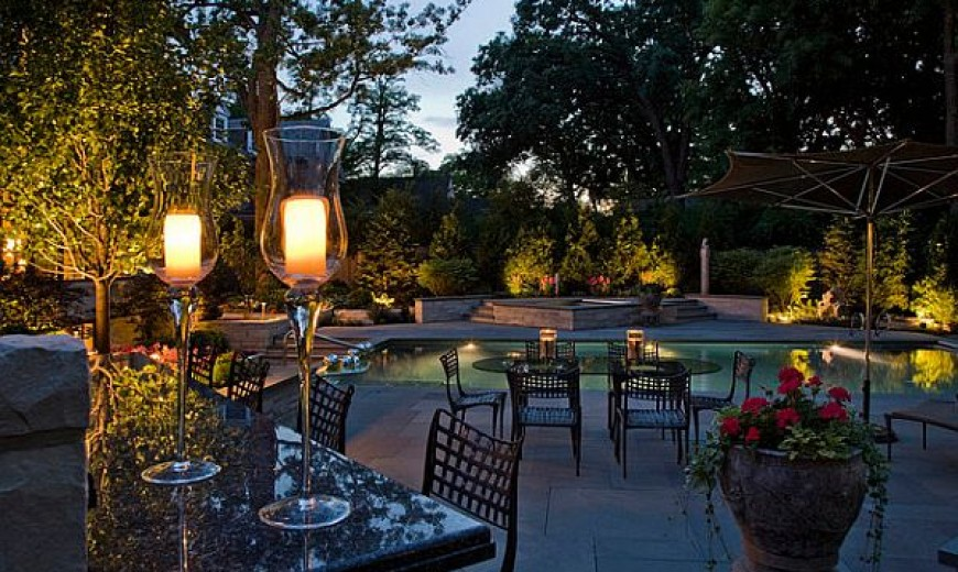 garden outdoor lighting ideas for your little paradise - Garden Ideas Lighting