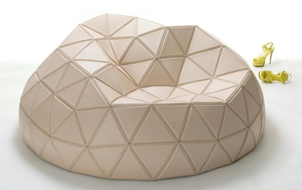 geometric dome seating