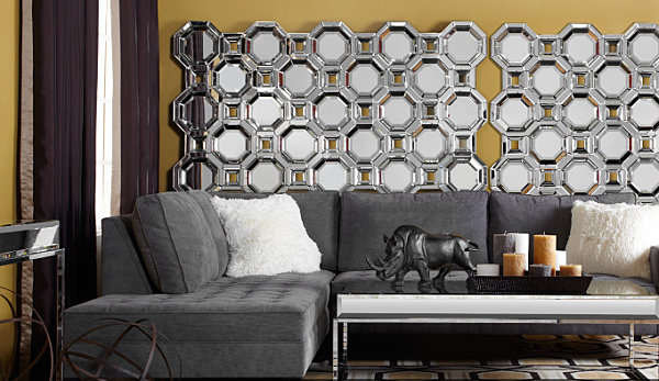 Z Gallerie Wall Art shape up your space with geometric decor