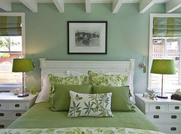 Green Bedroom Decorating Ideas Simple Of Green Bedroom Ideas Image