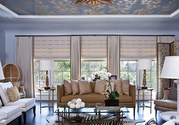hollywood-living-room-fancy-curtain-setup-for-sliding-glass-door