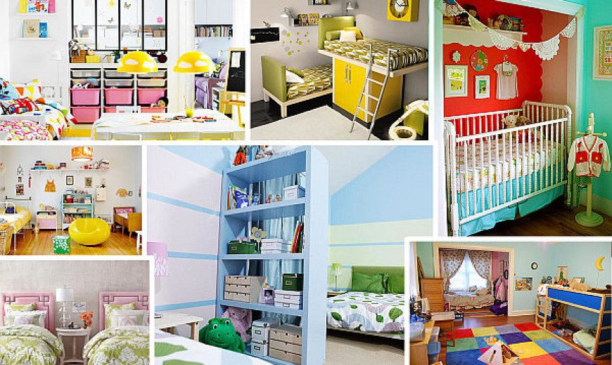 Kid Spaces: 9 Shared Bedroom Ideas