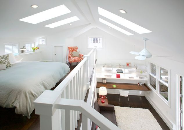 Vaulted Ceiling Loft Ideas 634 x 451