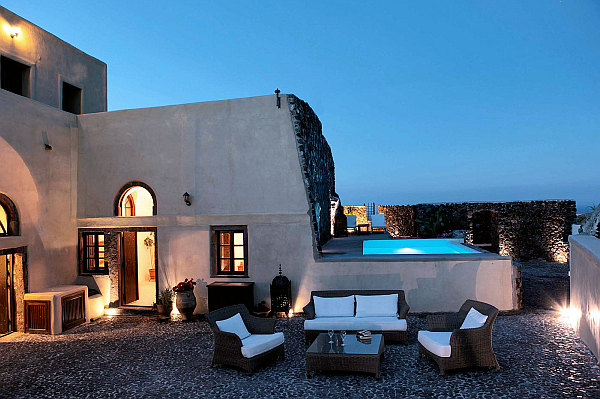 luxurious santorini villa mediterranean influences Decorating with a Mediterranean Influence: 30 Inspiring Pictures