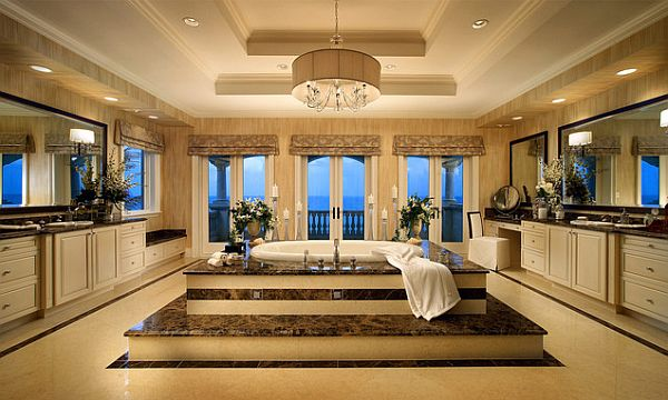 Over the top inspirational bathroom designs for Luxury master bath designs