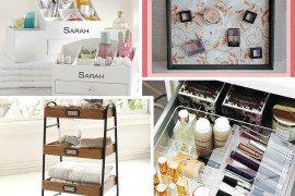 20 Marvelous Makeup Storage Ideas