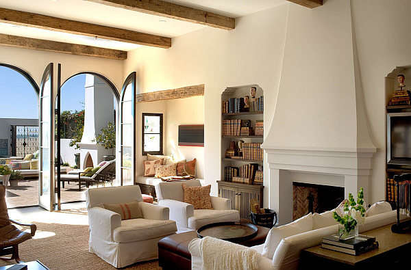 Mediterranean Interior Design decorating with a mediterranean influence: 30 inspiring pictures