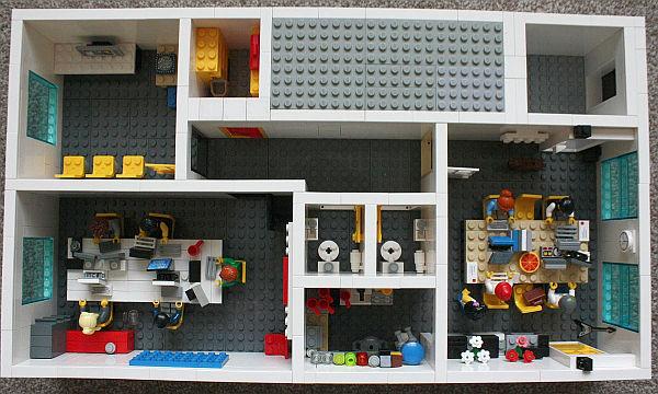 miniature Lego office - Yard Digital