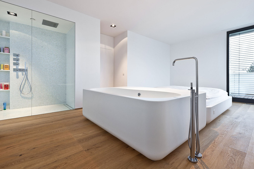 View in gallery modern bathroom flooring