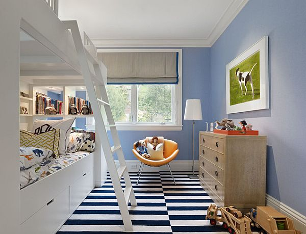 modern bunk beds for teen bedroom