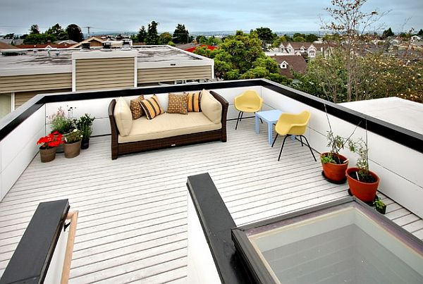 Decorating a rooftop space in five easy steps - Rooftop terrace beautiful and fresh rooftop decorating ideas ...