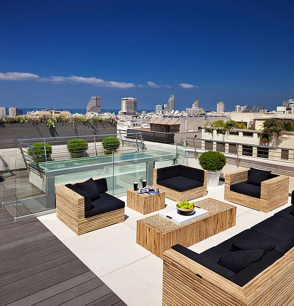 Decorating a rooftop space in five easy steps for Beautiful garden decking