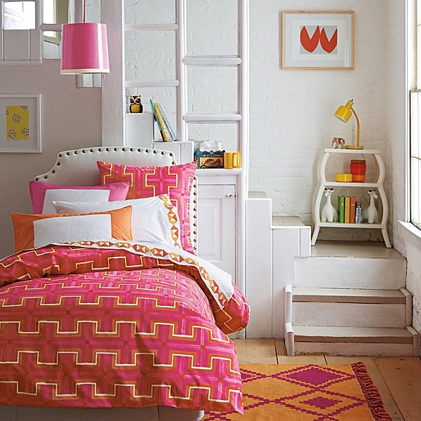 We Continue The Fun By Featuring Colorful Bedding For Teenage - Stylish bedding for teen girls