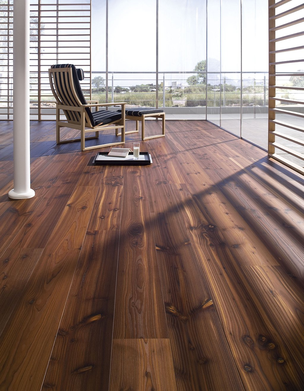 Choosing the best wood flooring for your home for Best timber for decking