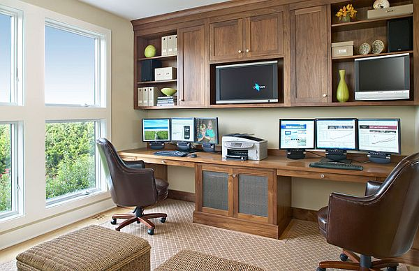natural walnut home office furniture Tips for Creating an Efficient Home Office