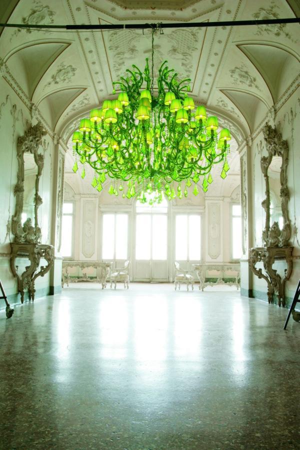 neon-green-chandelier
