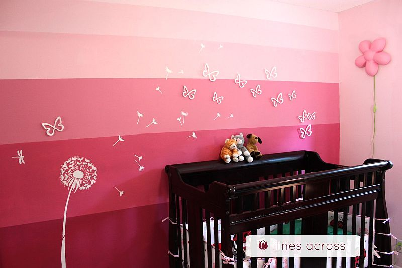 Ombre Walls Painting Techniques Designs And Ideas - Ombre wall painting technique