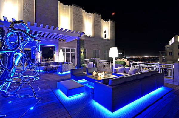 easy outdoor house lighting design. 5  Decorating a Rooftop Space in Five Easy Steps