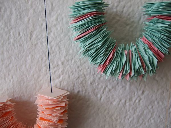 paper chaing garland Paper Inspired Décor: Fun Ways for You and Your Kids To Decorate Your Home