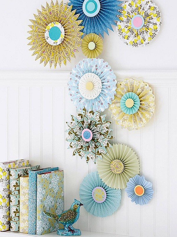 Arts And Crafts Wall Decor Ideas : Paper inspired d?cor fun ways for you and your kids to