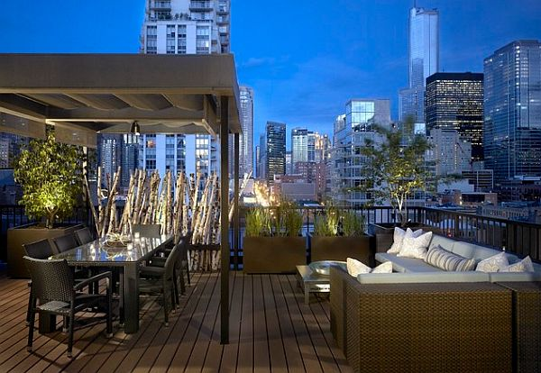 Decorating a rooftop space in five easy steps - Deco terrasse ...