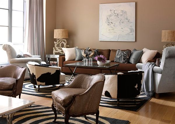 safari inspired living room Decorating with a Modern Safari Theme