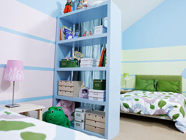 Kid spaces 20 shared bedroom ideas for Childrens bedroom designs unisex