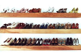 ShoeCase Your Shoes In Style: DIY Approach to Decorative Closet Expansion