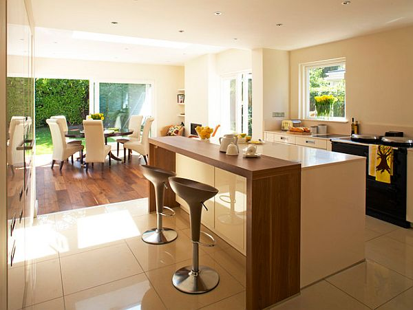 Surprising Modern Kitchen Dining Room Images House Designs