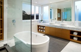 spa-like bathroom design