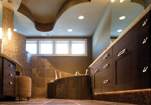 Over the top inspirational bathroom designs - Cool spa like bathroom designs ...