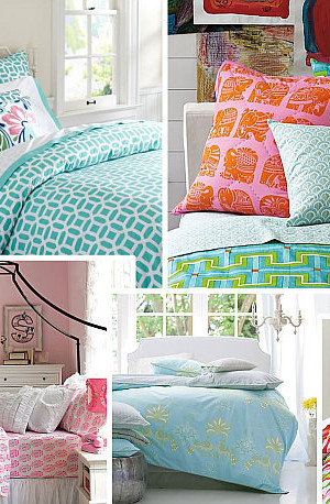 stylish bedding for teenage girls