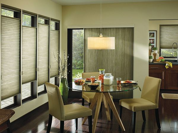 stylish window coverings with asian influence