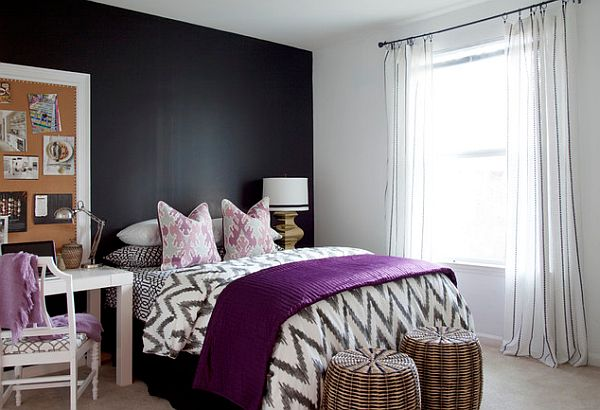 teen bedroom. View in gallery Teen bedroom with chalboard wall Trendy Rooms Design Ideas and Inspiration