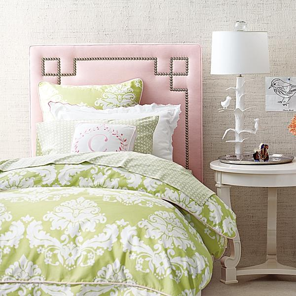 teen girls upholstered headboard