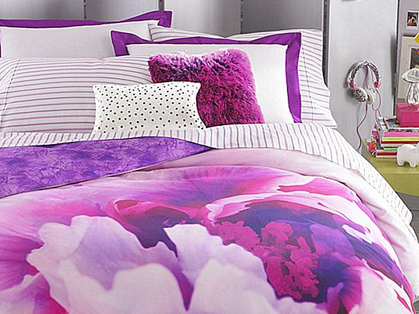 Bon View In Gallery. If You Prefer Hot Pink Over Purple, Thereu0027s Always Teen  Vogueu0027s Flower Girl Bedding.