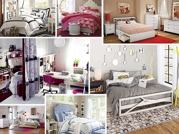 Teen Bedroom Violet Teenage Girl Bedroom Ideas For Small Rooms