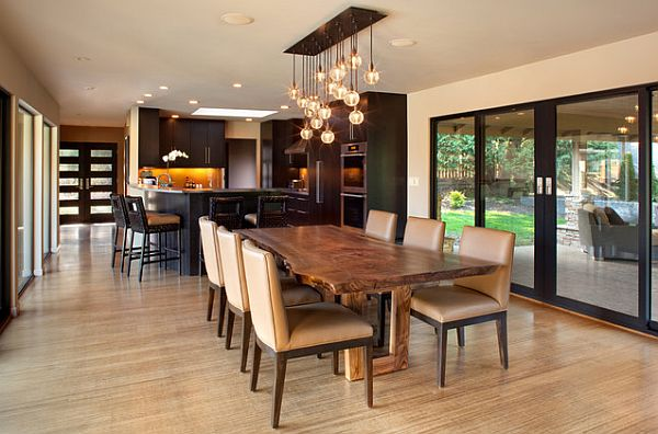 Dining Room Table Lighting Ideas 600 x 396