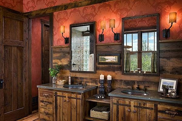 pictures of rustic bathrooms. Liked  Over the Top Inspirational Bathroom Designs