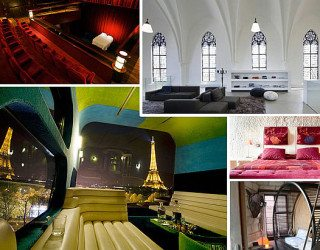 Unique Accommodations: Wacky Places to Sleep in Europe