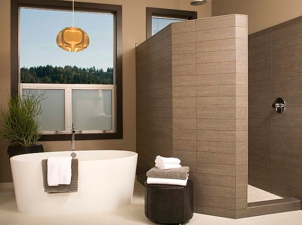 Stylish walk in shower enclosures the perfect choice Simple shower designs
