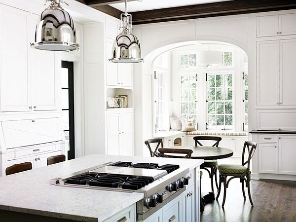 White Kitchen Lighting white kitchen light fixtures coordinated lighting on design