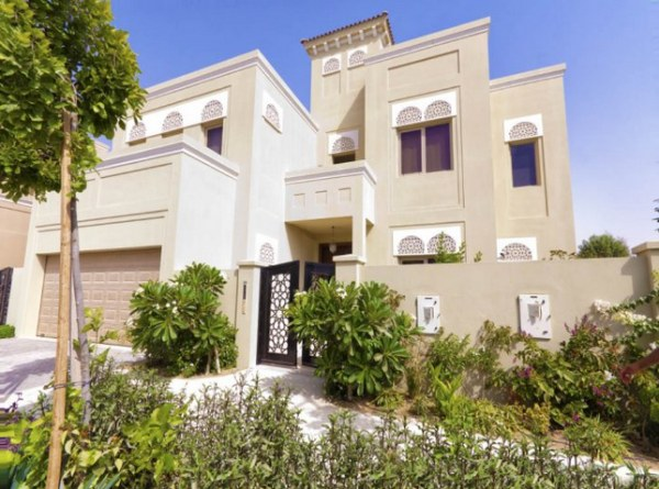 Front Elevation House Dubai : Modern arabic villa designs that celebrate opulence
