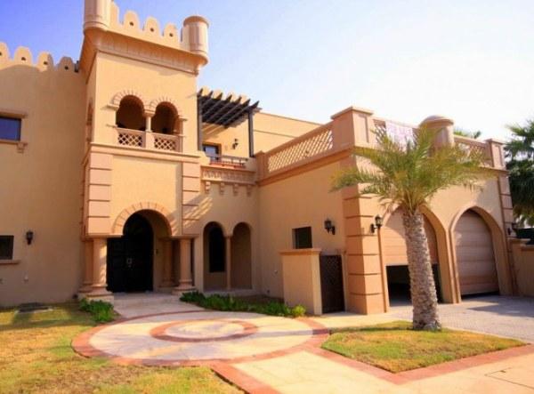 7 modern arabic villa designs that celebrate opulence for Architecture arabe