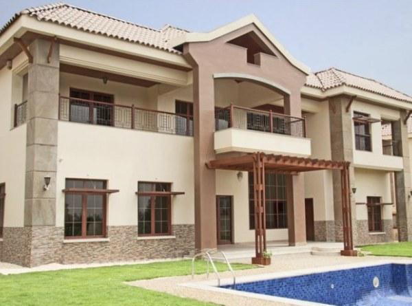 A modern Arabian villa