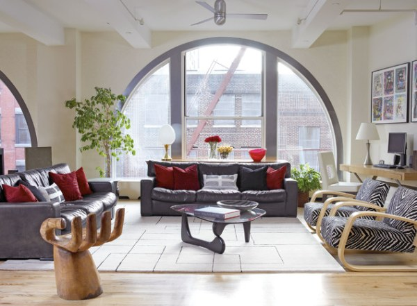 View In Gallery A Modern New York City Loft