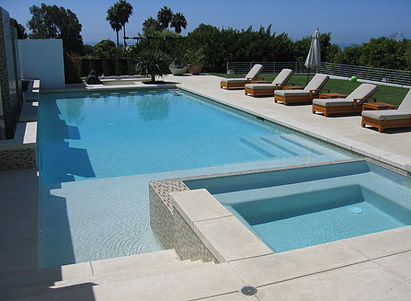 innovative seating is a poolside highlight of the next featured