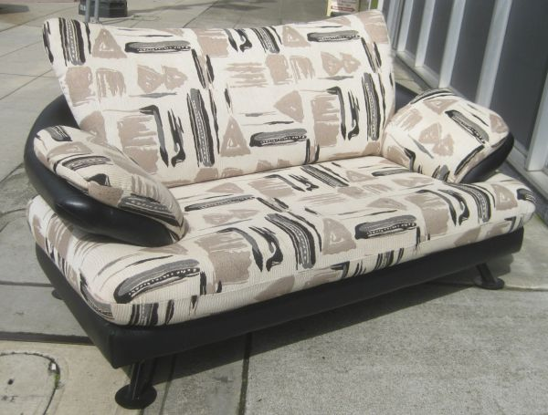 African Print Loveseat and Sofa Set